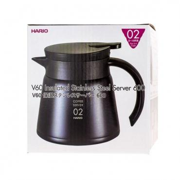 Kettle THERMO SERVER Hario V60 600ml (VHS-60B)