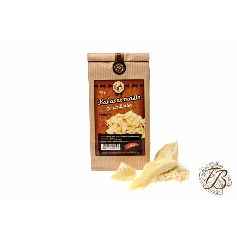 Cocoa butter natural, 100g, chocolate oven Troubelice