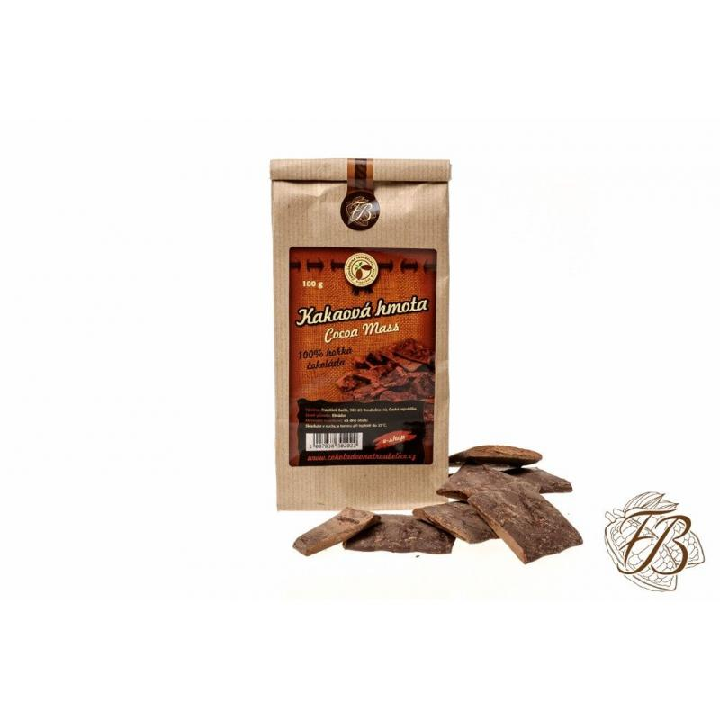 Cocoa mass, 200g, chocolate oven Troubelice