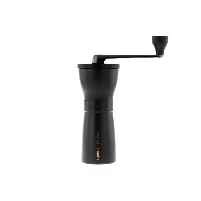 Hario Mini Mill Slim Plus kávédaráló fekete malom (MMSP-1-B)