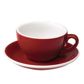Loveramics Egg Cup - Cappuccino 200ml, RED