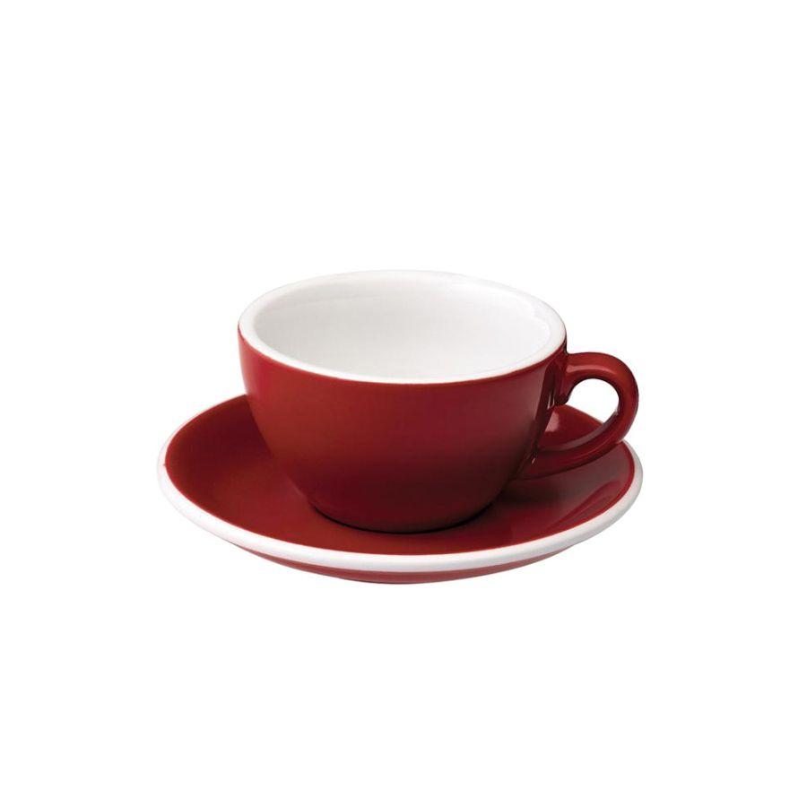 csésze Loveramics Egg - Cappuccino 200ml, RED