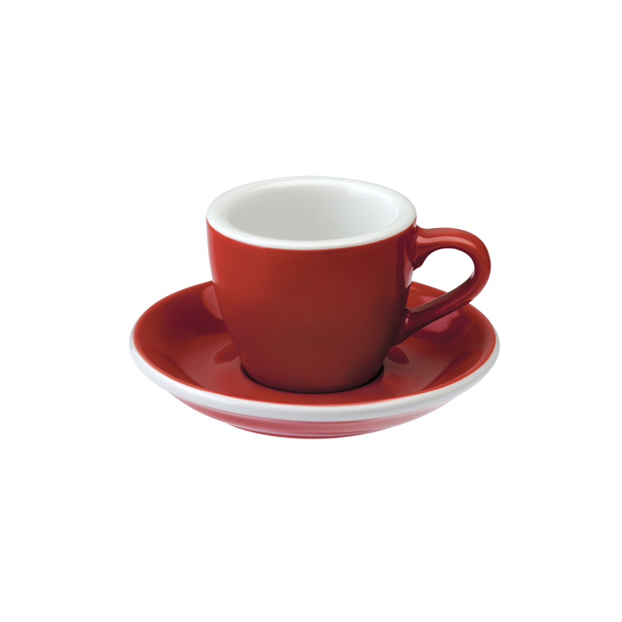 csésze Loveramics Egg - Espresso 80ml, piros