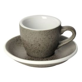 Loveramics Egg Cup - Espresso 80ml, GRANITE