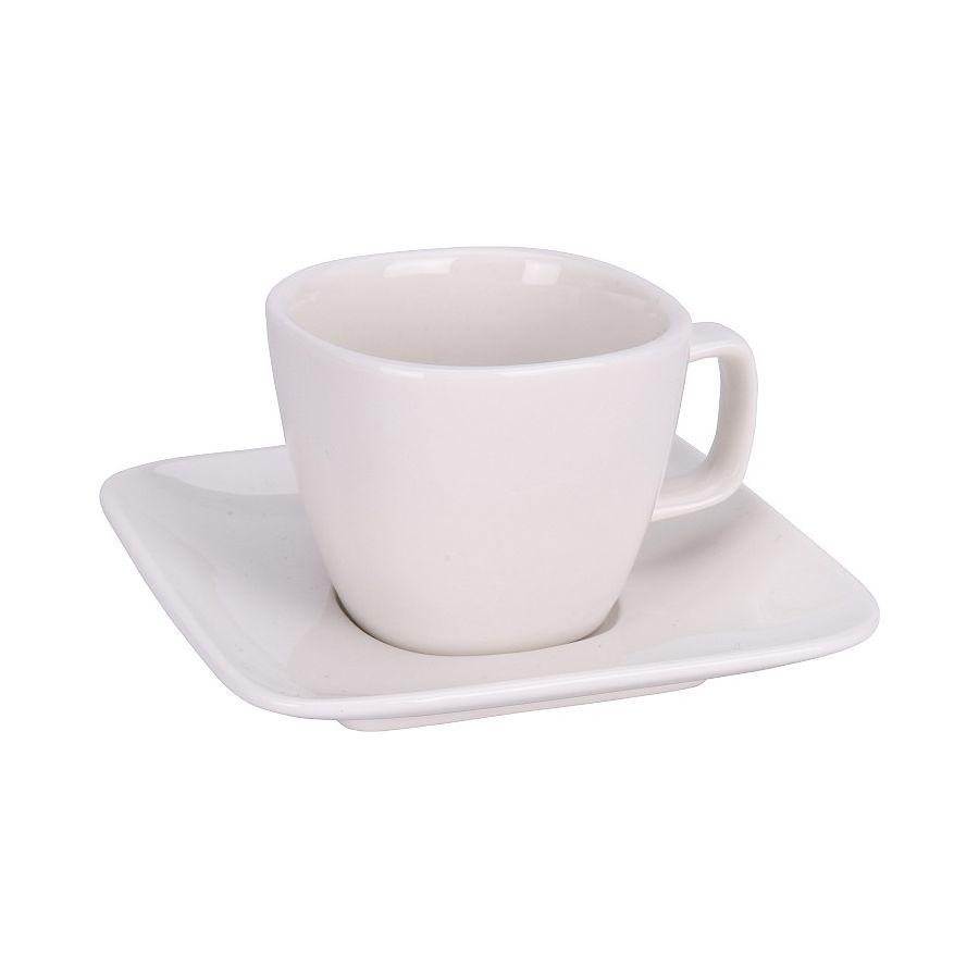 Espresso kávéscsésze, 60 ml, fehér porcelán