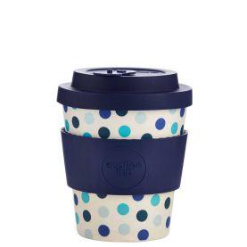 Bamboo mug Ecoffee Blue Polka 240ml