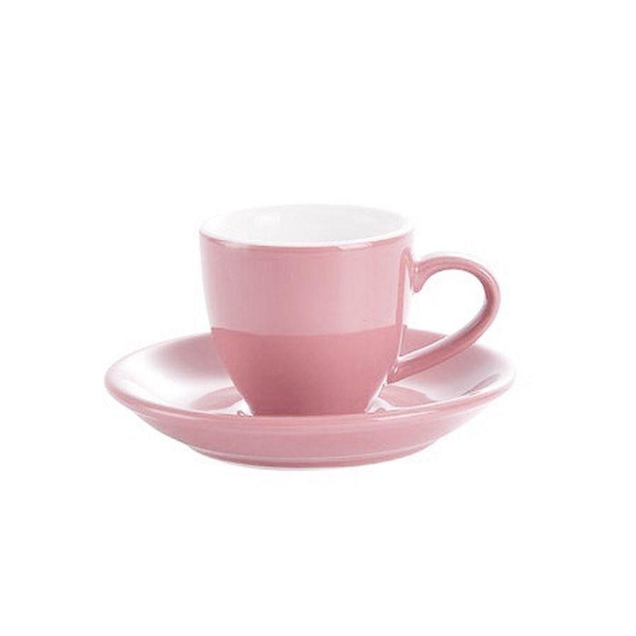 Šálek na espresso Kaffia 80ml - lososová