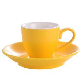 Kaffia eszpresszó csésze 80ml - sárga