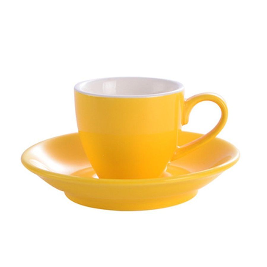 Šálka na espresso Kaffia 80ml - žltá
