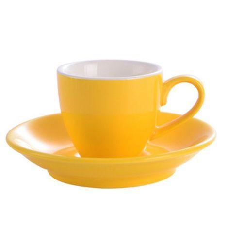 Šálek na espresso Kaffia 80ml - žlutá