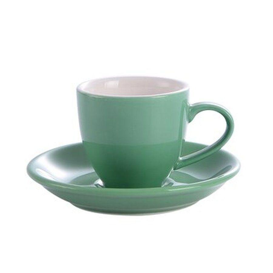 Šálka na espresso Kaffia 80ml - mentolová