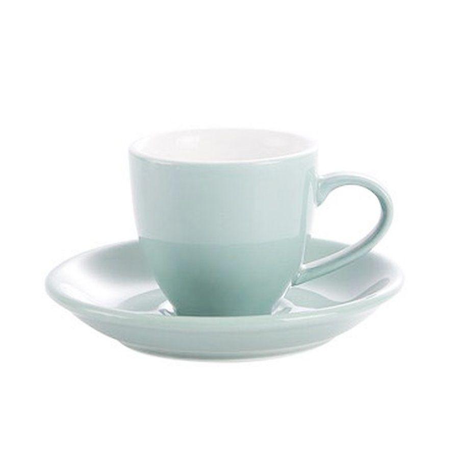 Šálka na espresso Kaffia 80ml - svetlo modrá