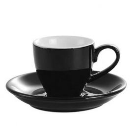 Kaffia espresso cup 80ml - black