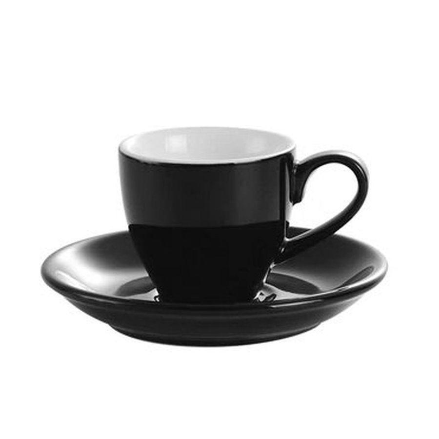 Šálka na espresso Kaffia 80ml - čierna