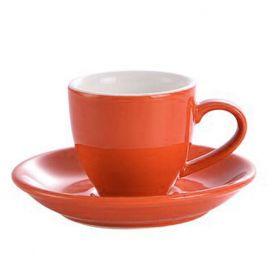 Šálka na espresso Kaffia 80ml - oranžová