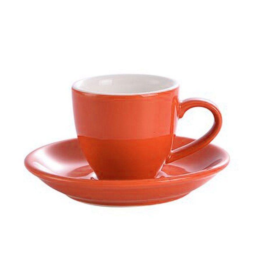 Kaffia eszpresszó csésze 80ml - narancs