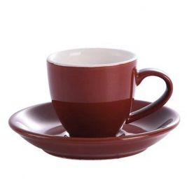 Kaffia espresso cup 80ml - brown