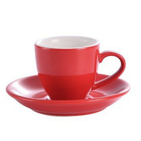 Kaffia espresso cup 80ml - red