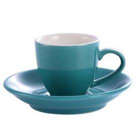 Kaffia eszpresszó csésze 80ml - türkiz