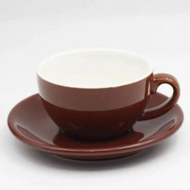Cup for cappuccino Kaffia 220ml - brown