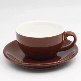 Šálka na cappuccino Kaffia 220ml - hnedá