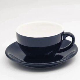 Kaffia Cappuccino Cup 220ml - sötétkék
