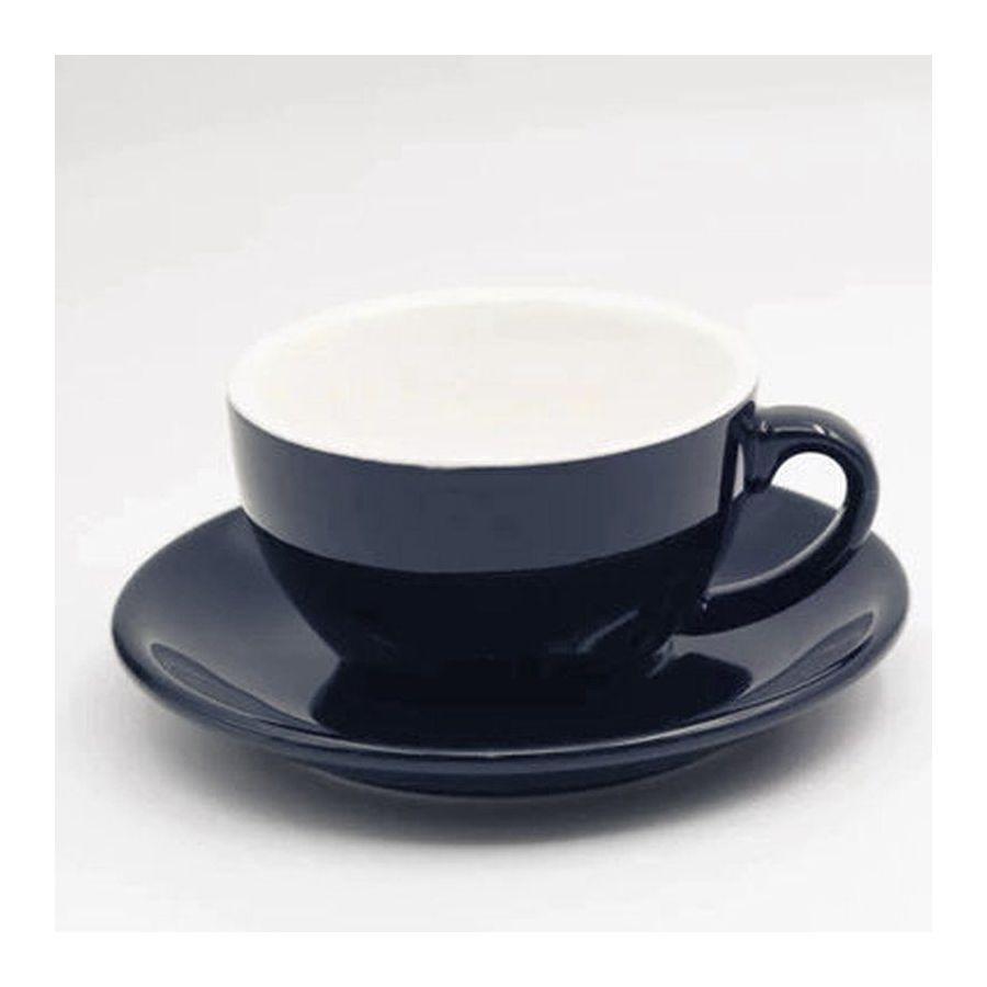 Šálek na cappuccino Kaffia 220ml - tmavě modrá