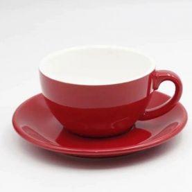 Šálka na cappuccino Kaffia 220ml - červená