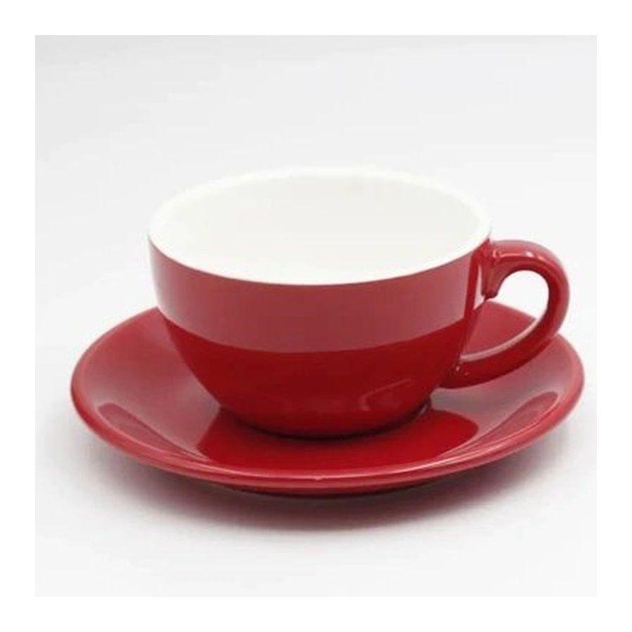 Csésze caffucino Kaffia-hoz 220ml - piros