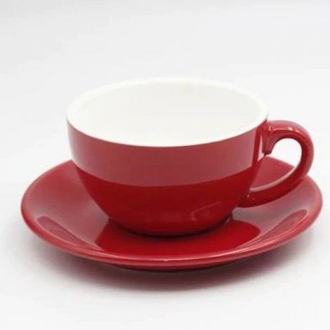 Cup for cappuccino Kaffia 220ml - red