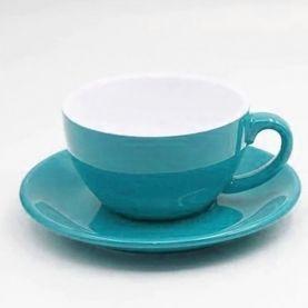 Kaffia Cappuccino Cup 220ml - türkiz