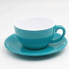 Kaffia Cappuccino Cup 220ml - turquoise