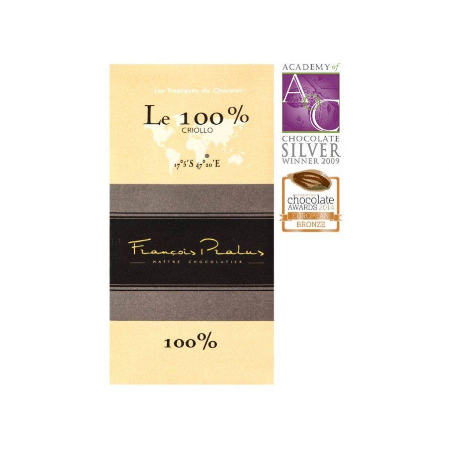 Chocolate Francois Pralus Madagaszkár 100%