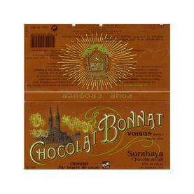 Čokoláda Bonnat Surabaya 65% - mliečna