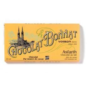 Chocolate Bonnat Asfarth 65% - tej