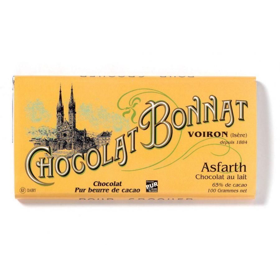 Čokoláda Bonnat Asfarth 65% - mléčná