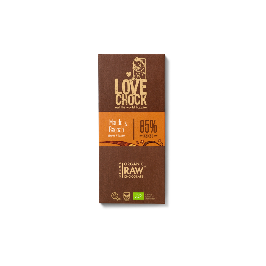 Čokoláda Lovechock Tablet - Mandle a baobab