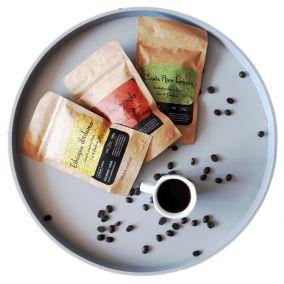 Vzorka kávy - 50g, zrnková