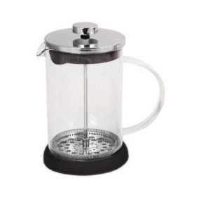 Frenchpress 600ml black stainless steel