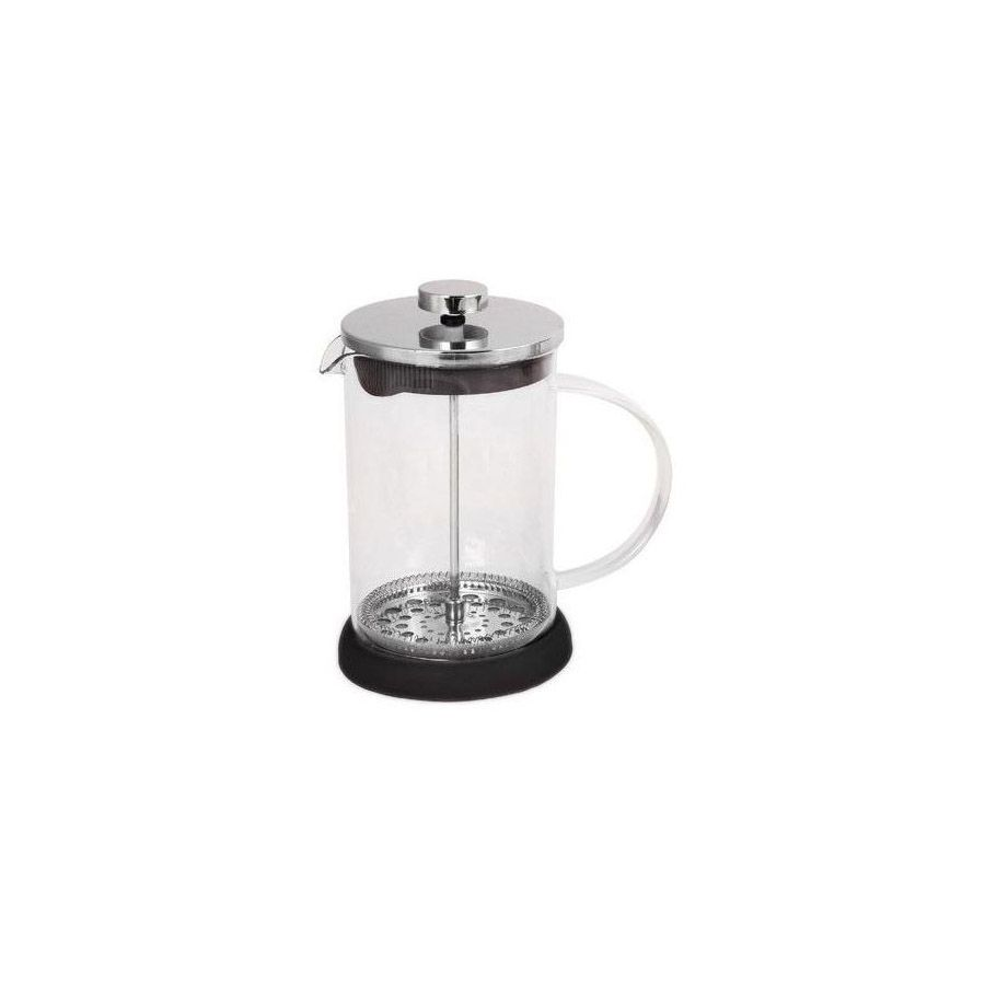 Frenchpress 800ml black stainless steel