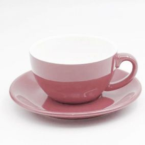 Šálka na cappuccino Kaffia 220ml - lososová