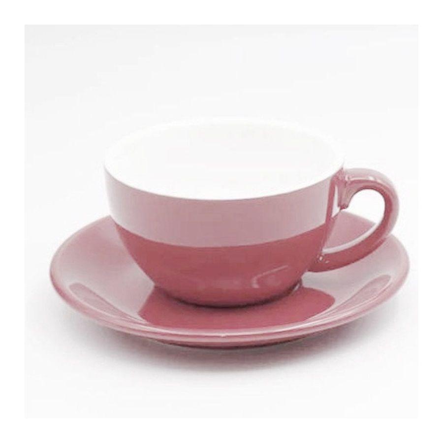 Cappuccino cup Kaffia 220ml - salmon