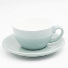 Šálka na cappuccino Kaffia 220ml - svetlo modrá