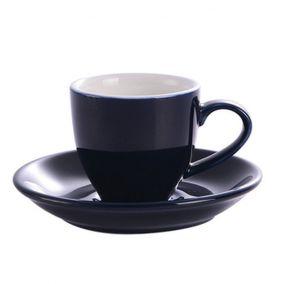 Kaffia eszpresszó csésze 80ml - sötétkék