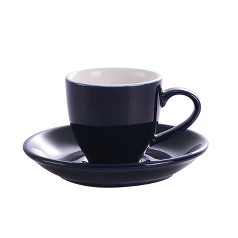Šálek na espresso Kaffia 80ml - tmavě modrá