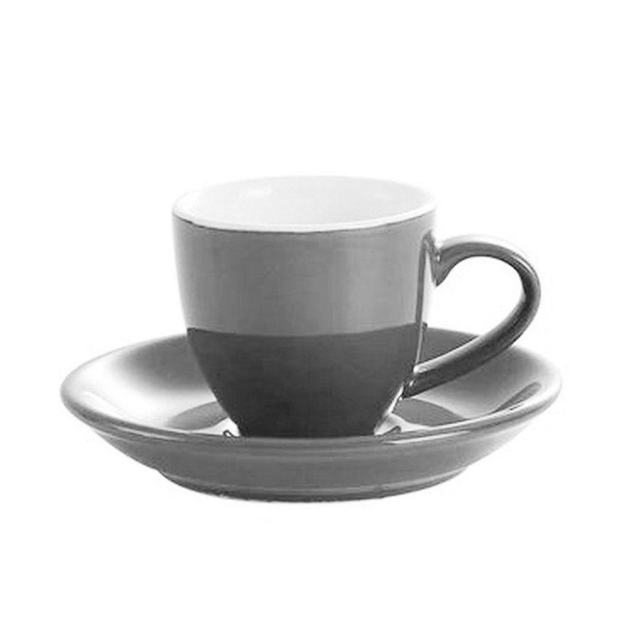 Šálka na espresso Kaffia 80ml - šedá