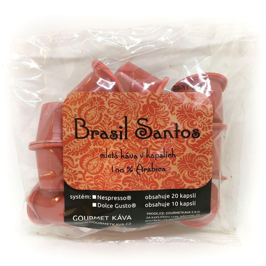 Capsules for Nespresso® Brasil Santos 20 pcs