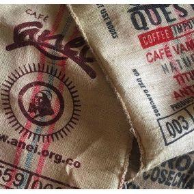 Charity jute coffee bag
