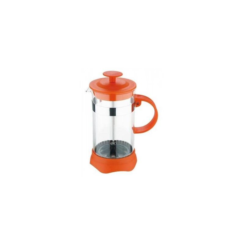 French press kettle 600ml (orange)