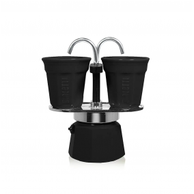 Gift set Bialetti Mini Express 2 cups black